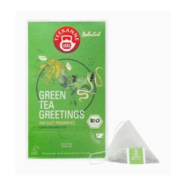Teekanne Tee, Selected Bio, Green Tea Greetings