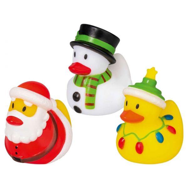 Badeente Weihnachten Hohoho, sortiert