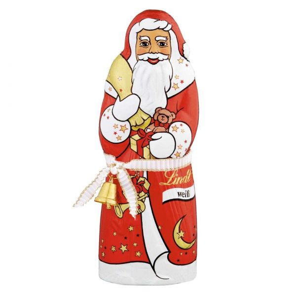 Lindt Weihnachtsmann, weiße Schokolade, 125 g