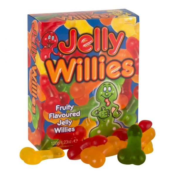 Jelly Willies, 120 g