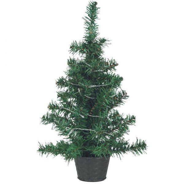 Künstlicher Tannenbaum mit LED, 55 cm