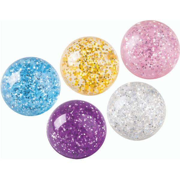 Flummiball Glitter, sortiert
