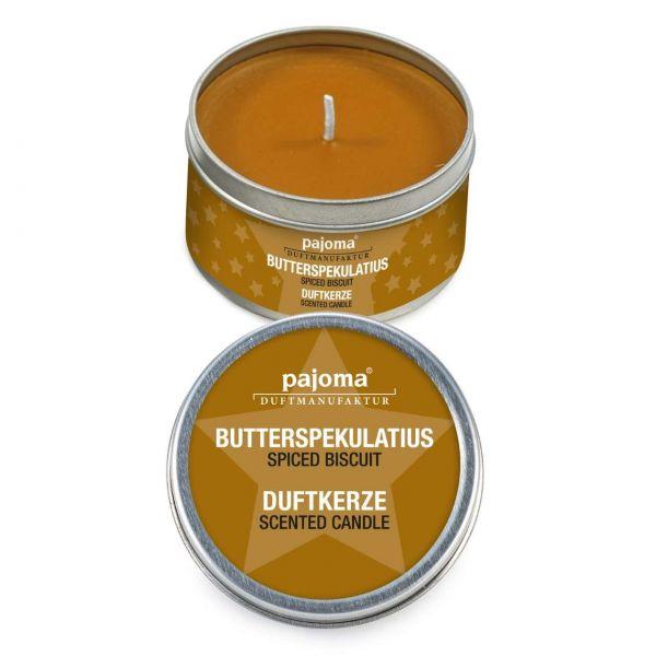 pajoma Duftkerze in Dose, Butterspekulatius