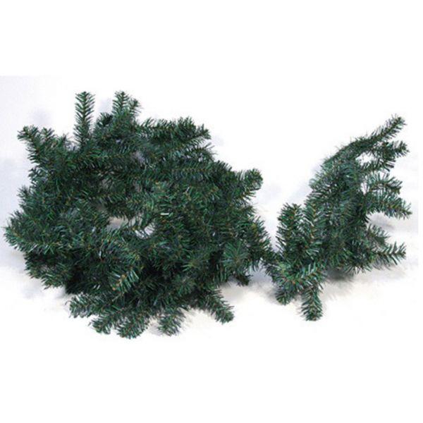 Weihnachtsgirlande, Tannengrün, 270 cm