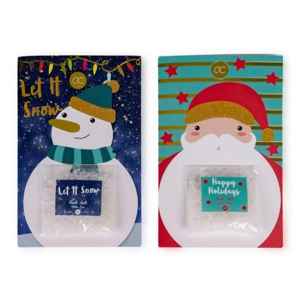 Badesalz Weihnachten, Santa & Co, sortiert