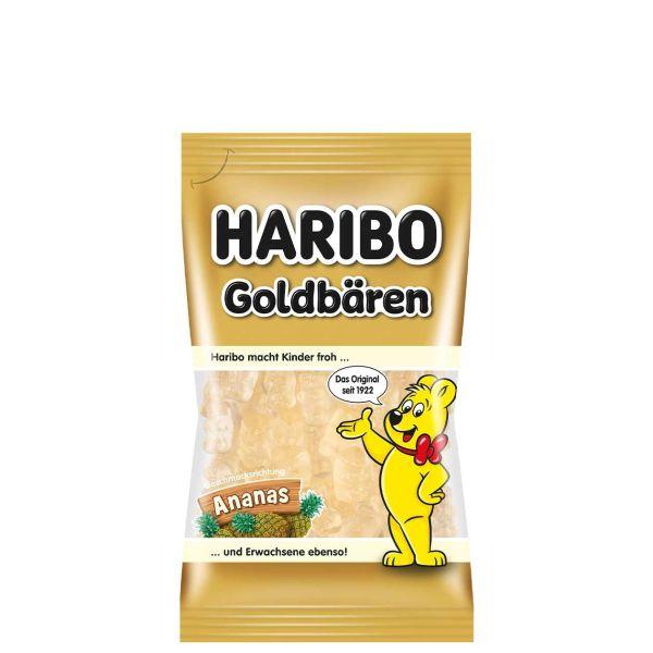 Haribo Goldbären sortenrein, Ananas, 75 g