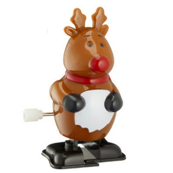 Aufziehfigur Weihnachten, Rentier