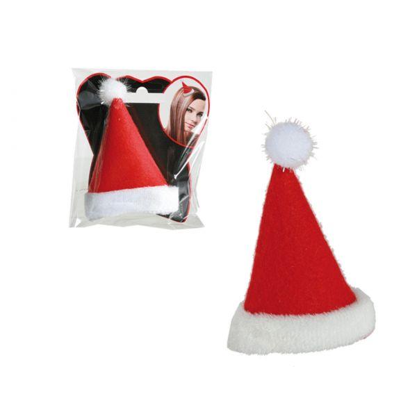 """Haarclip Weihnachten """"Weihnachtsmütze"""""""