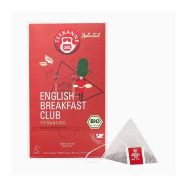 Teekanne Tee, Selected Bio, Englisch Breakfast Club