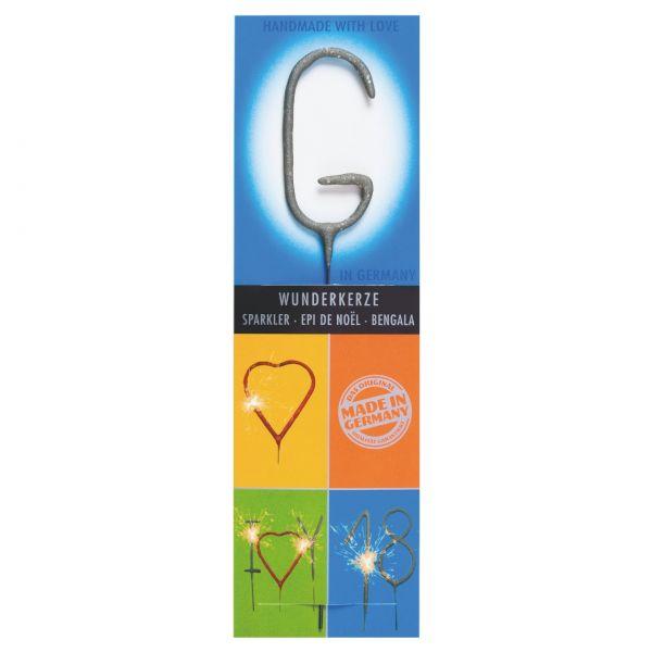 Wunderkerze Buchstaben: G