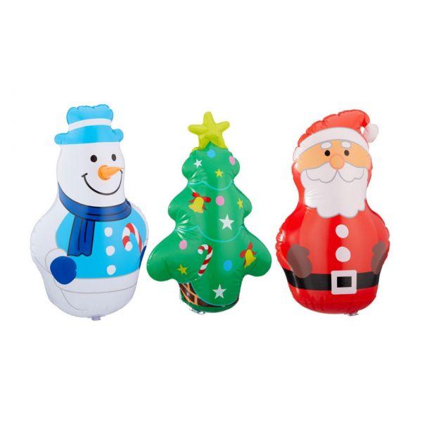 Aufblasbare Weihnachtsfiguren