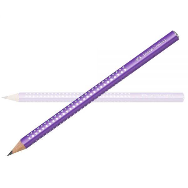 Faber-Castell Sparkle Bleistift Jumbo, lila