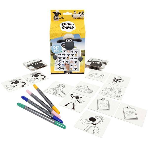 Shaun Memory mit Stiften