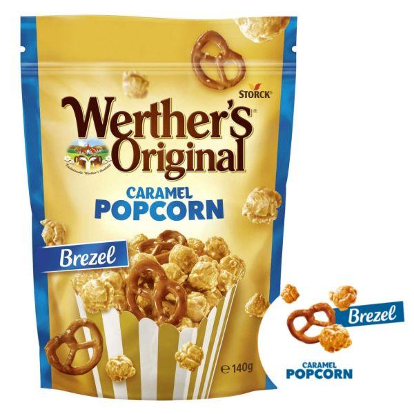 Caramel-Popcorn Brezel, Werther´s Original