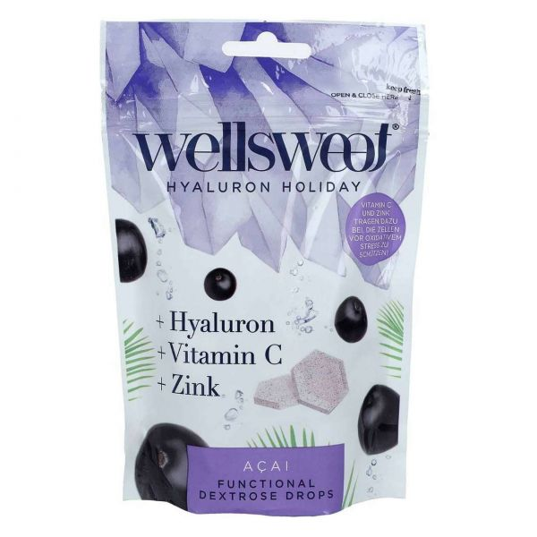 Wellsweet Drops, Hyaluron Holidays