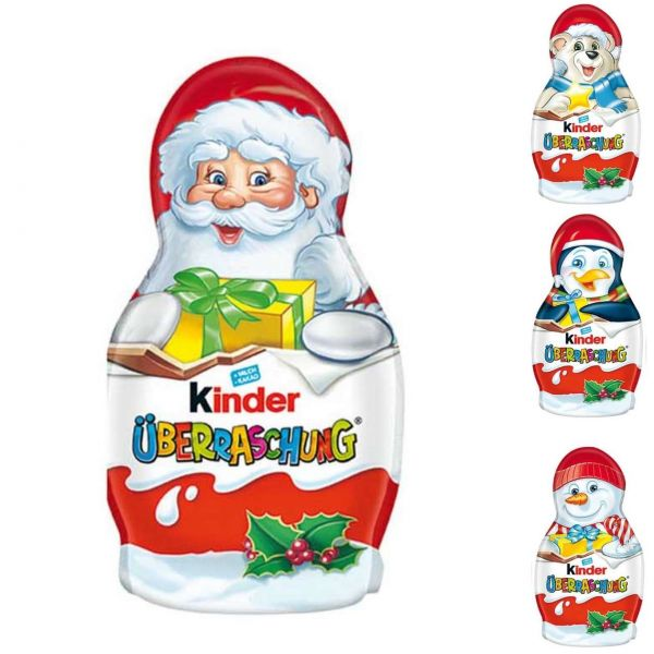 kinder Weihnachtsmann mit Überraschungsei, 36 g