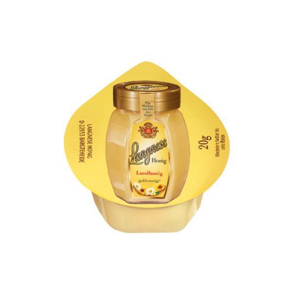 Langnese Honig Mini: Landhonig, goldcremig