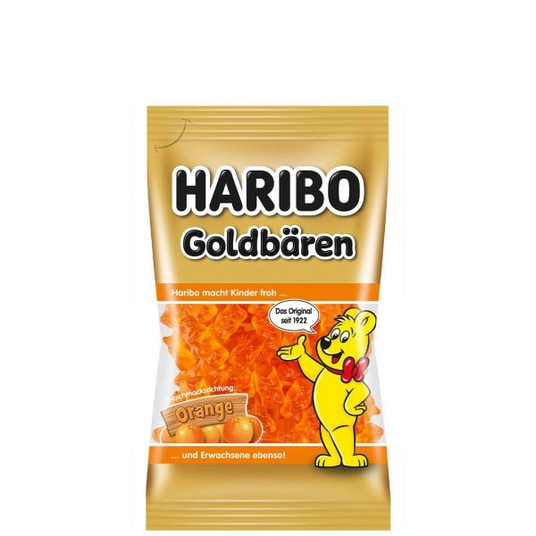 Haribo Goldbären sortenrein, Orange, 75 g