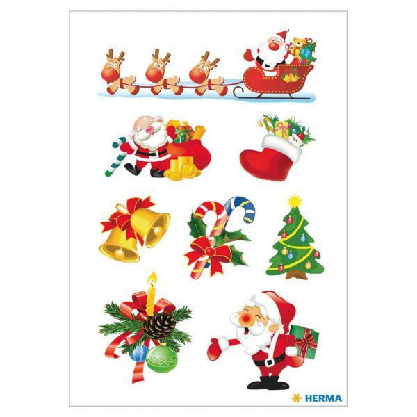 Sticker Weihnachten: Santa Claus