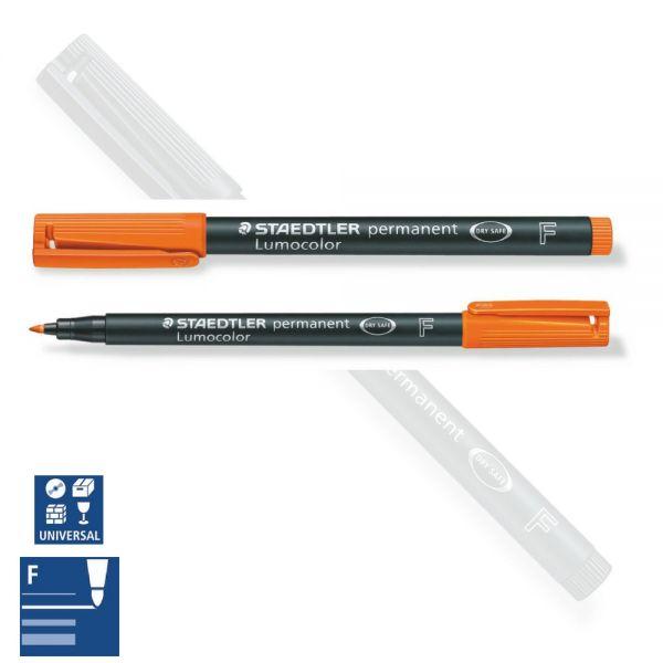 BB Folienstift wasserfest, fein (F), orange, Staedtler