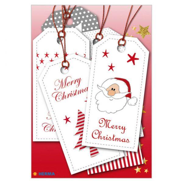 Geschenkanhänger Weihnachten: Xmas