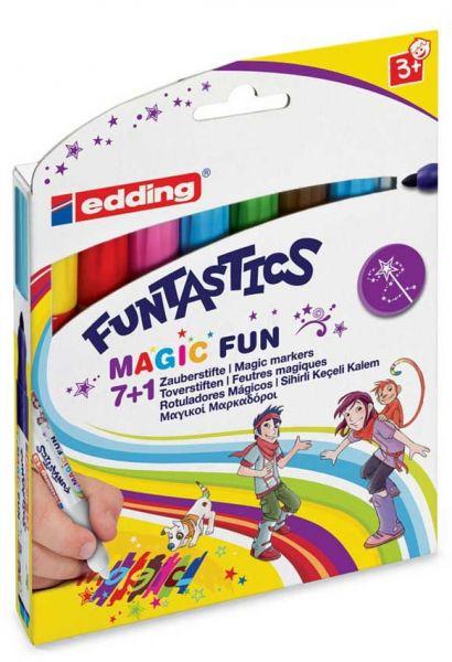 Zauberstifte edding Funtastics, 7+1 Etui