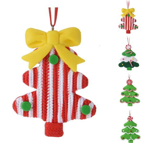 Hängedeko Weihnachten Tannenbaum, sortiert