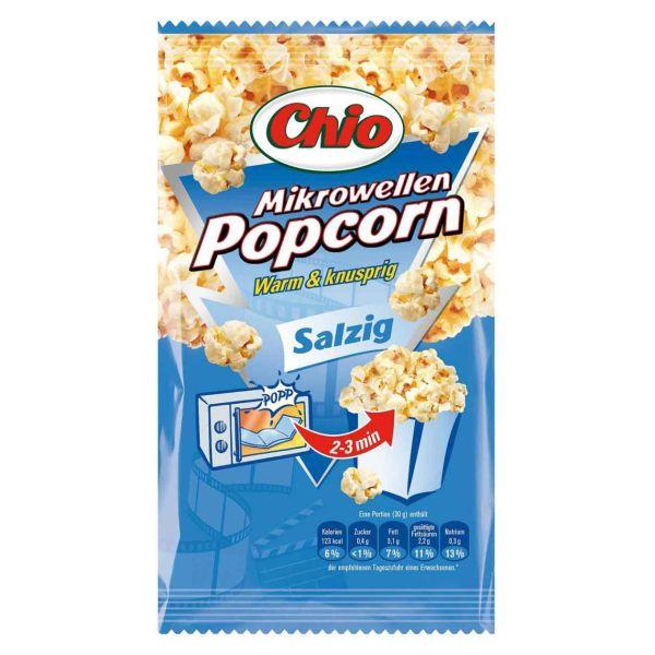Mikrowellen Popcorn salzig, Chio