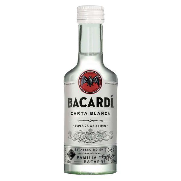 Bacardi Carta Blanca, 37,5 %, 5 cl