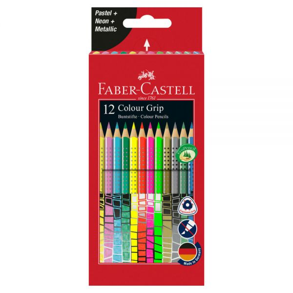 Faber-Castell Colour Grip, 12 Sonderfarben