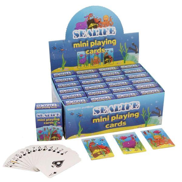 Mini Kartenspiel - Seetiere