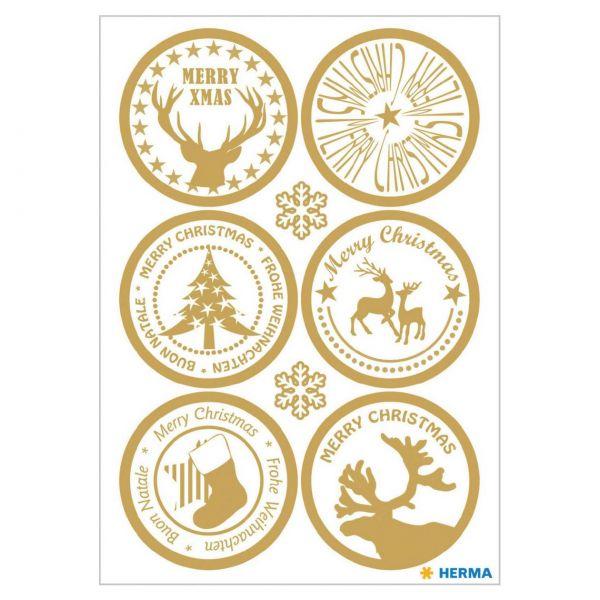 Sticker Weihnachten: Xmas