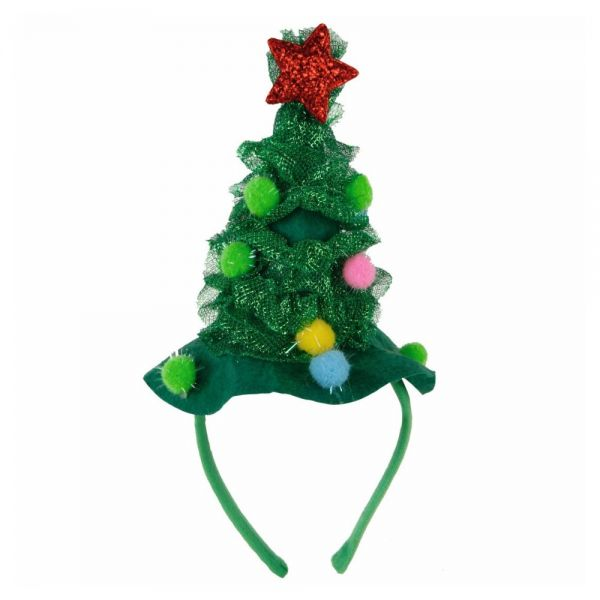 Haarreif Weihnachten Tannenbaum