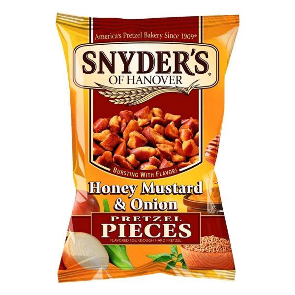 Pretzel Pieces Honey Mustard & Onion, Snyder's of Hanover