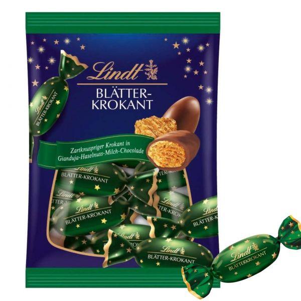 Lindt Weihnachtskugeln, Blätterkrokant, 90 g