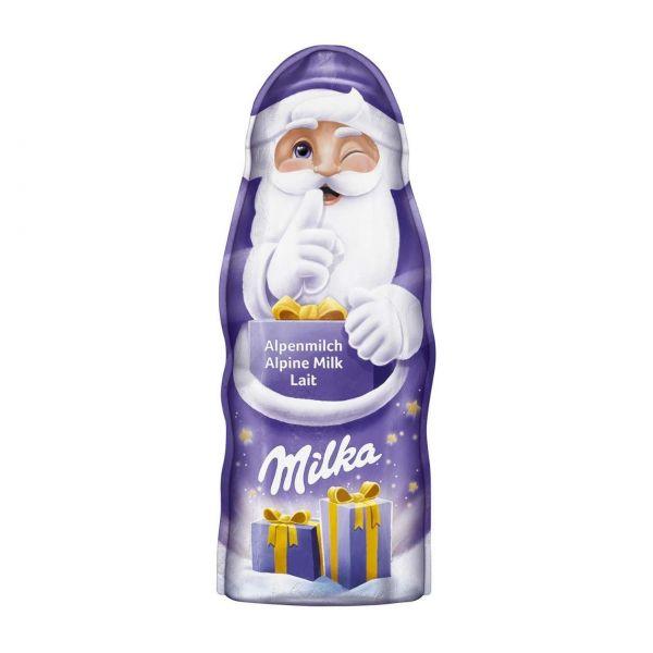 Milka Weihnachtsmann Alpenmilch, 90 g