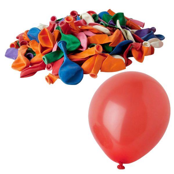 10 bunte Luftballons