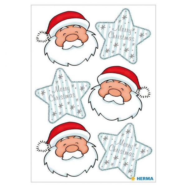 Sticker Weihnachten: Nikolausgruß