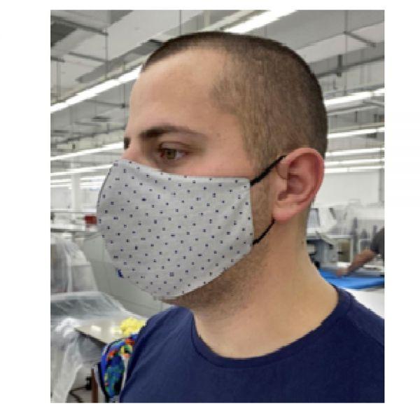 Behelftsmaske aus Baumwolle, waschbar, sortiert