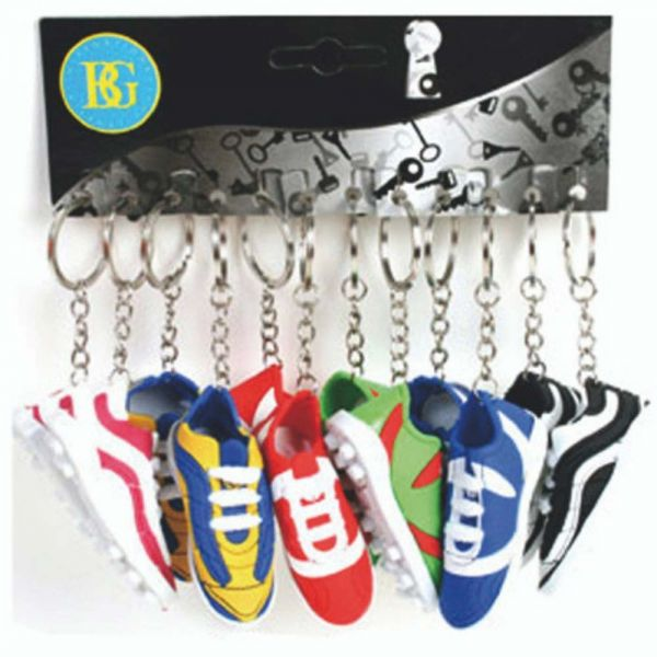 Schlüsselanhänger Schuh, Fußball, sortiert