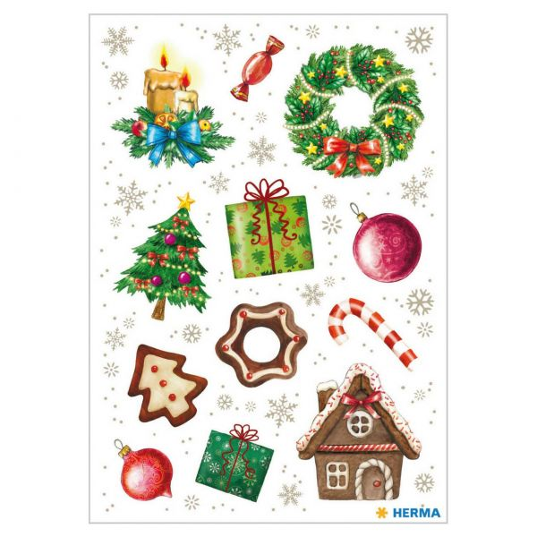 Sticker Weihnachten: Weihnachtszeit