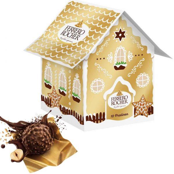 Ferrero Lebkuchenhäuschen: Ferrero Rocher Lebkuchenhäuschen, 125 g