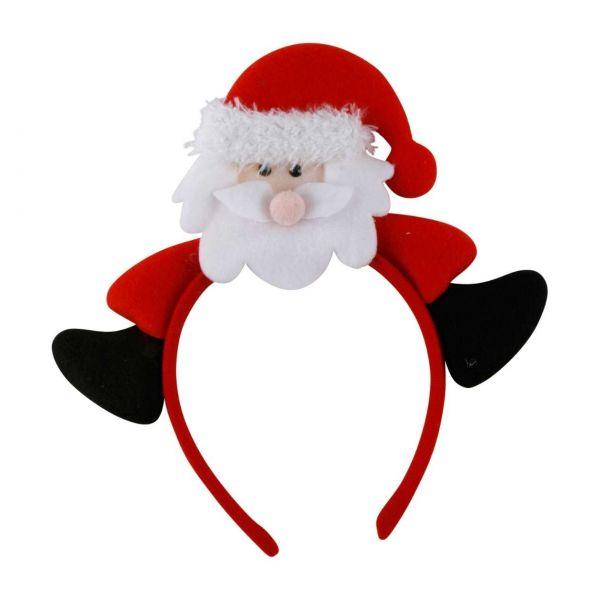 Haarreif Weihnachten Santa