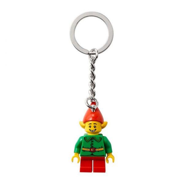 Lego Schlüsselanhänger, Weihnachtself