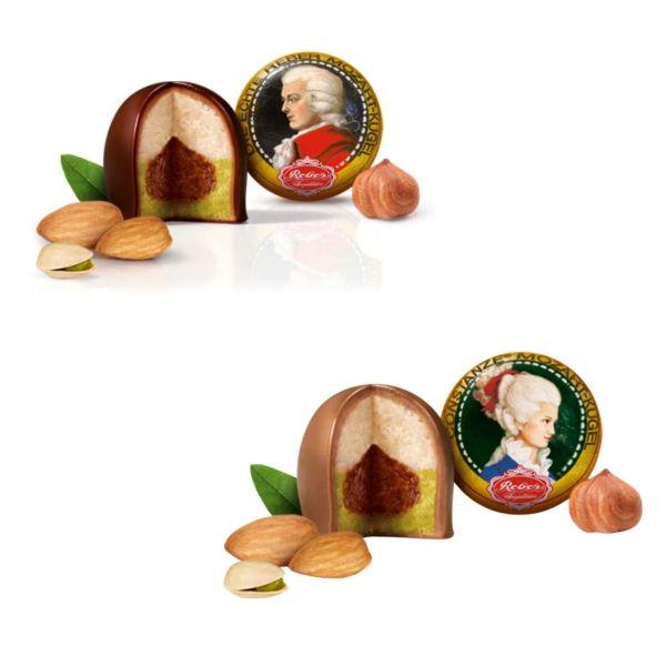 Reber Mozartkugel, Duo mit Constanze, 2x 20 g