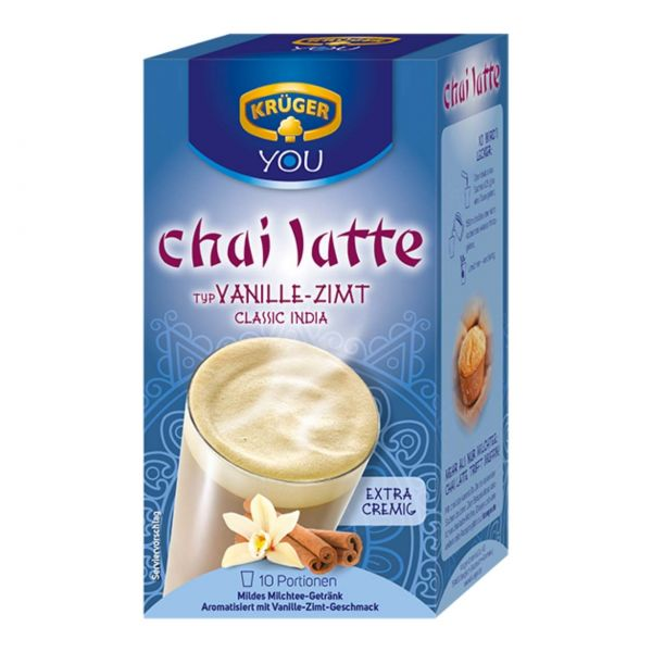 Chai-Latte Krüger, Vanille-Zimt, 1 Beutel