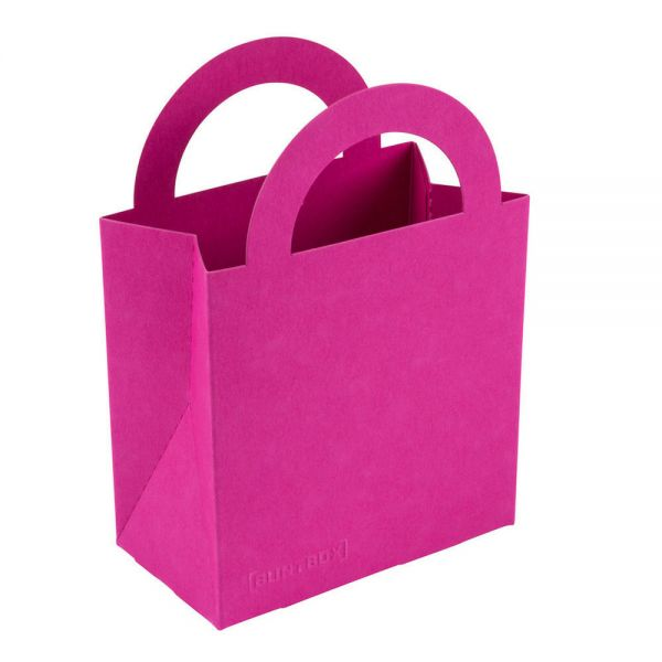 BB Geschenktüte colour bag S, magenta