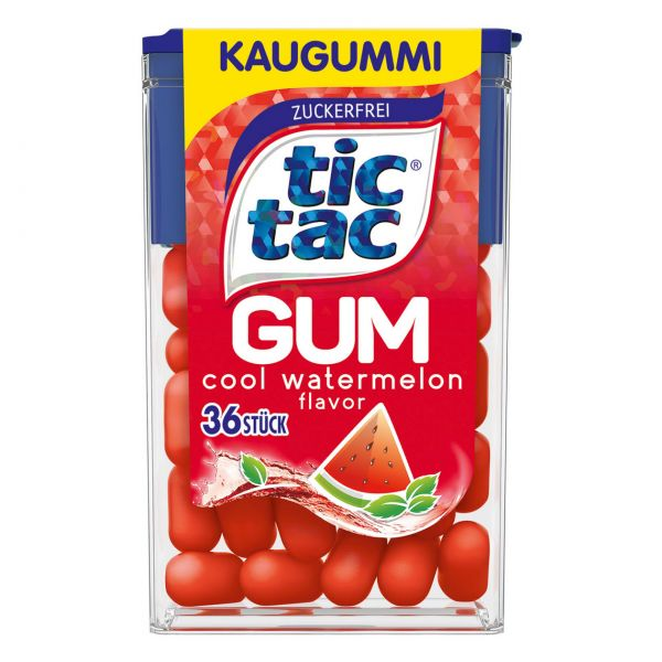 tic tac Gum watermelon, zuckerfrei