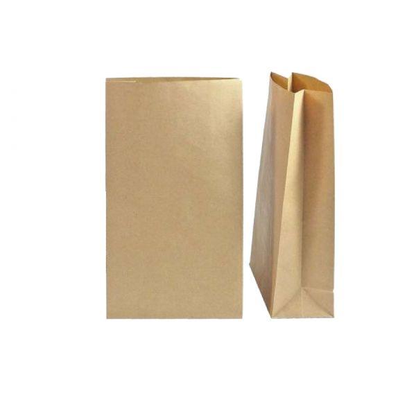 Kraftpapiertüte 12 x 21 x 6 cm, ungefüttert