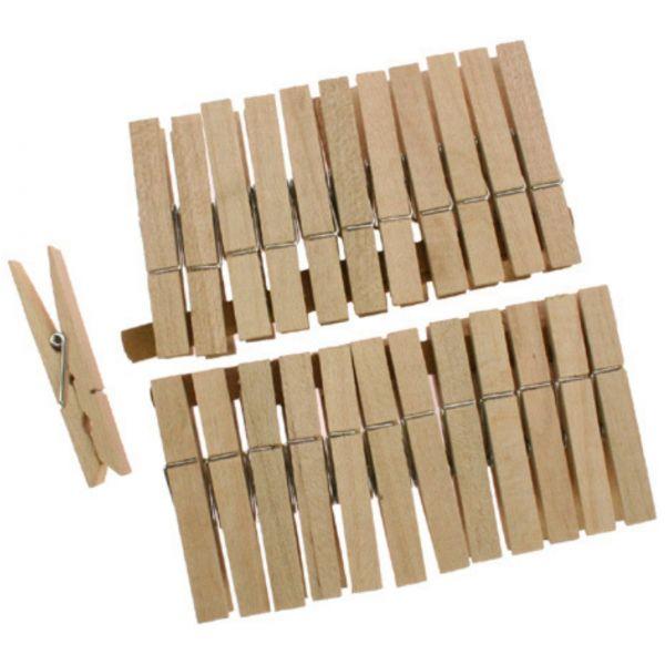 Adventskalender Wäscheklammern Holz